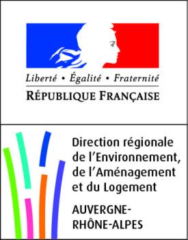 Logo DREAL Auvergne Rhône-Alpes